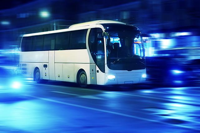 Self-driving bus at Nanyang Technological University. Photo courtesy: NTU