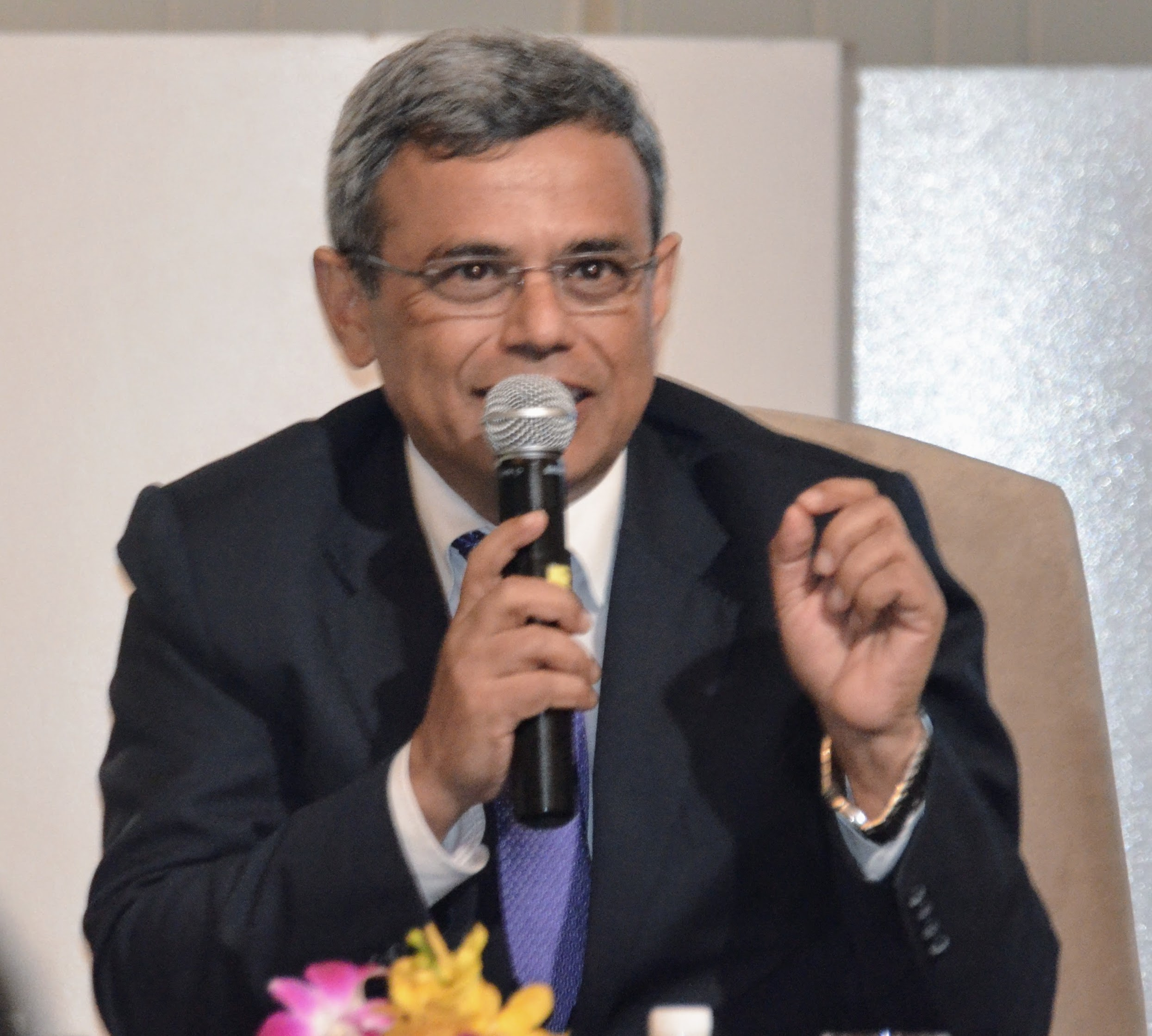 Jawed Ashraf, India's High Commissioner to Singapore. Photo: Connected to India