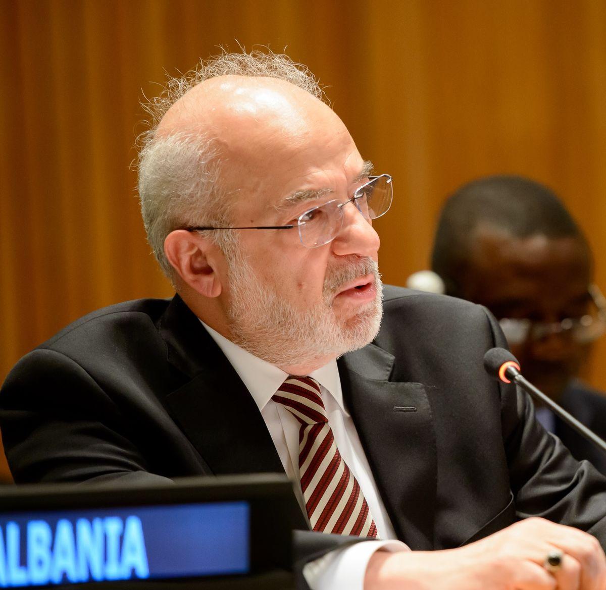 Ibrahim al-Jafri, Iraqi Foreign Minister,
