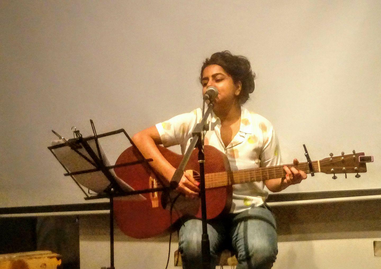 Pooja Nansi. Photo courtesy: Poetry Festival FB