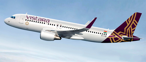 Vistara Airlines offer preferred window and aisle seats to women passengers on their flights.