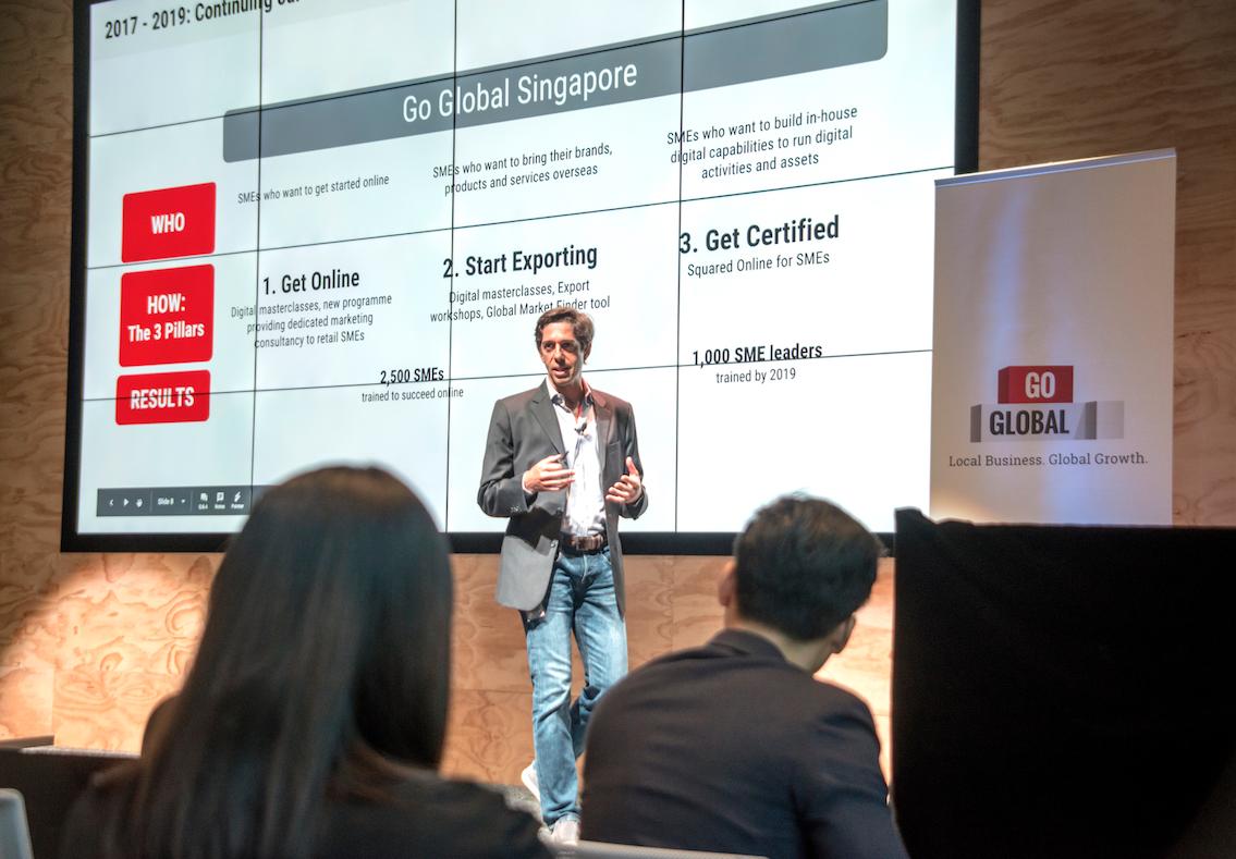 Gilberto Gaeta, Head of Google Marketing Solutions for Singapore, Malaysia, Philippines and Emerging Markets Photo courtesy: Google