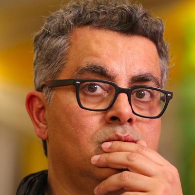 Author Amitava Kumar.