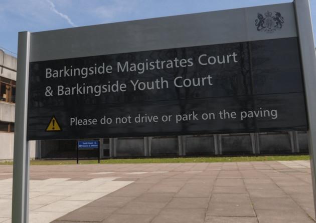 Barkingside Magistrates' Court.