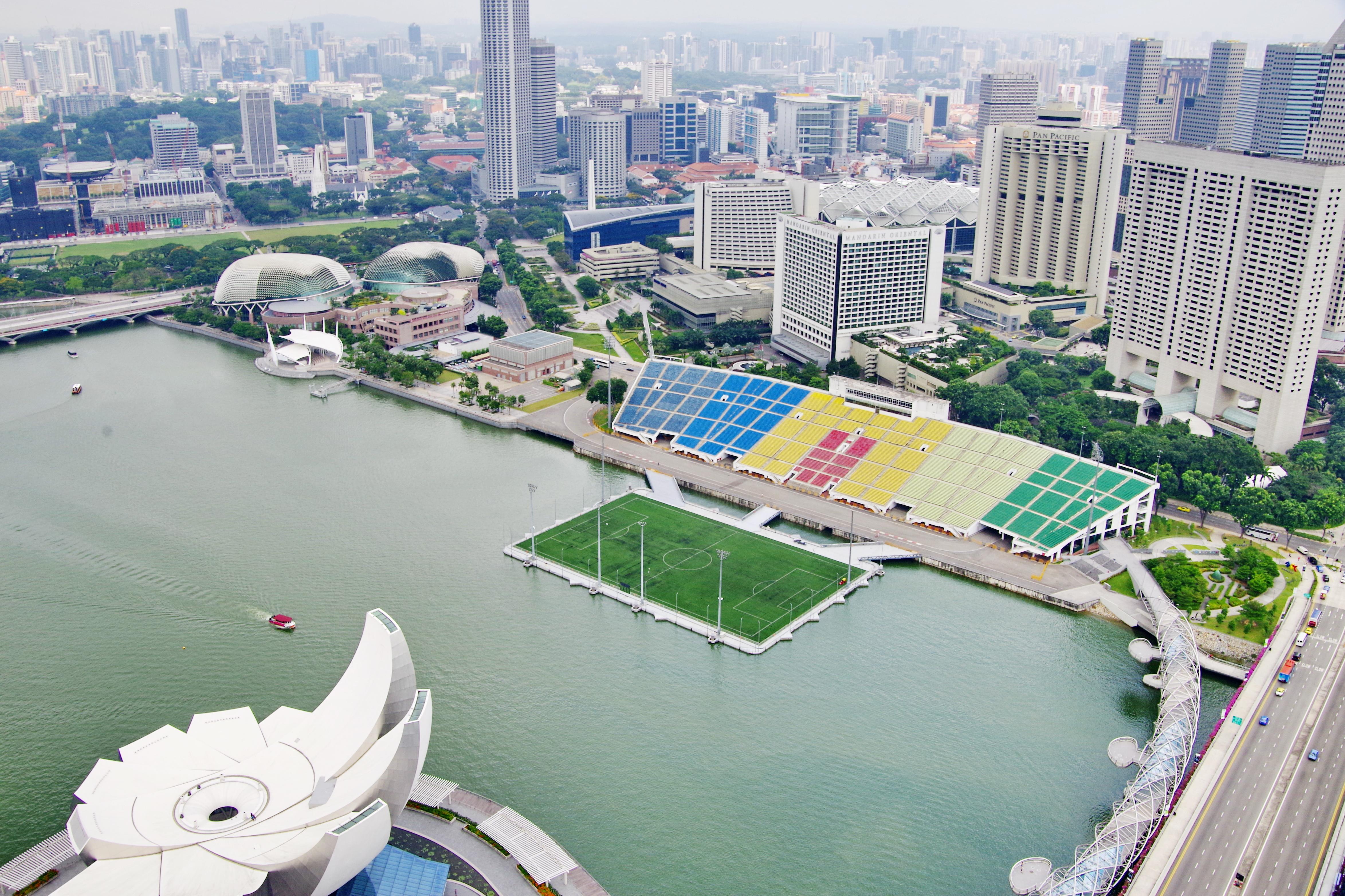 The Float at Marina Bay. Photo courtesy: Wikipedia