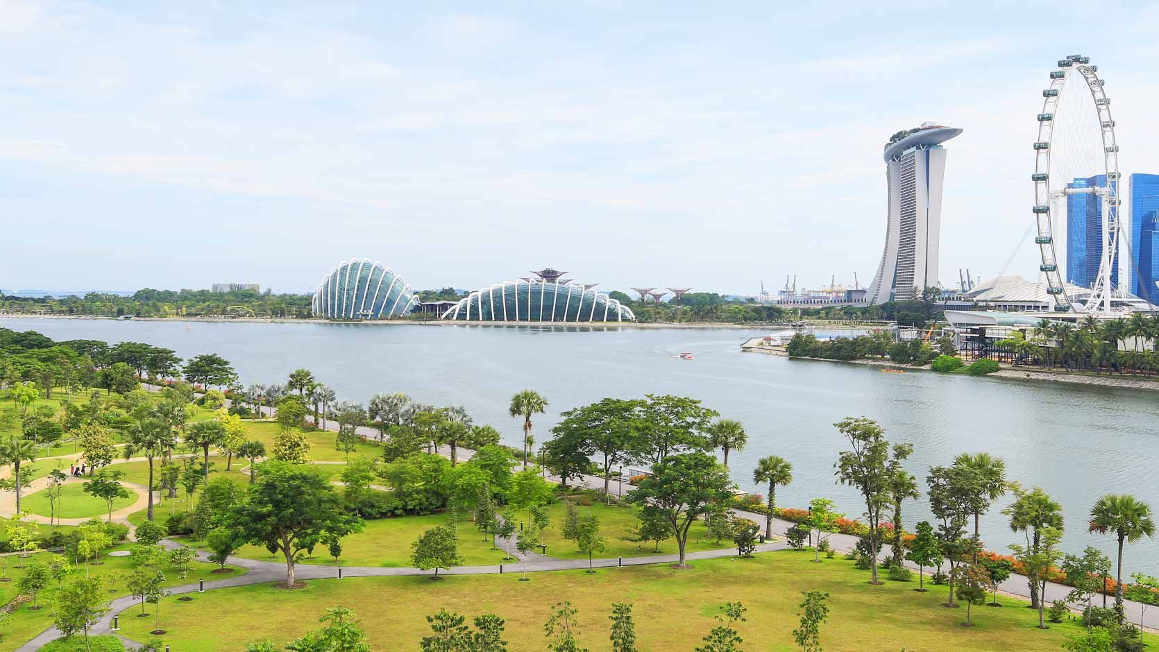 photo courtesy gardens by the bay