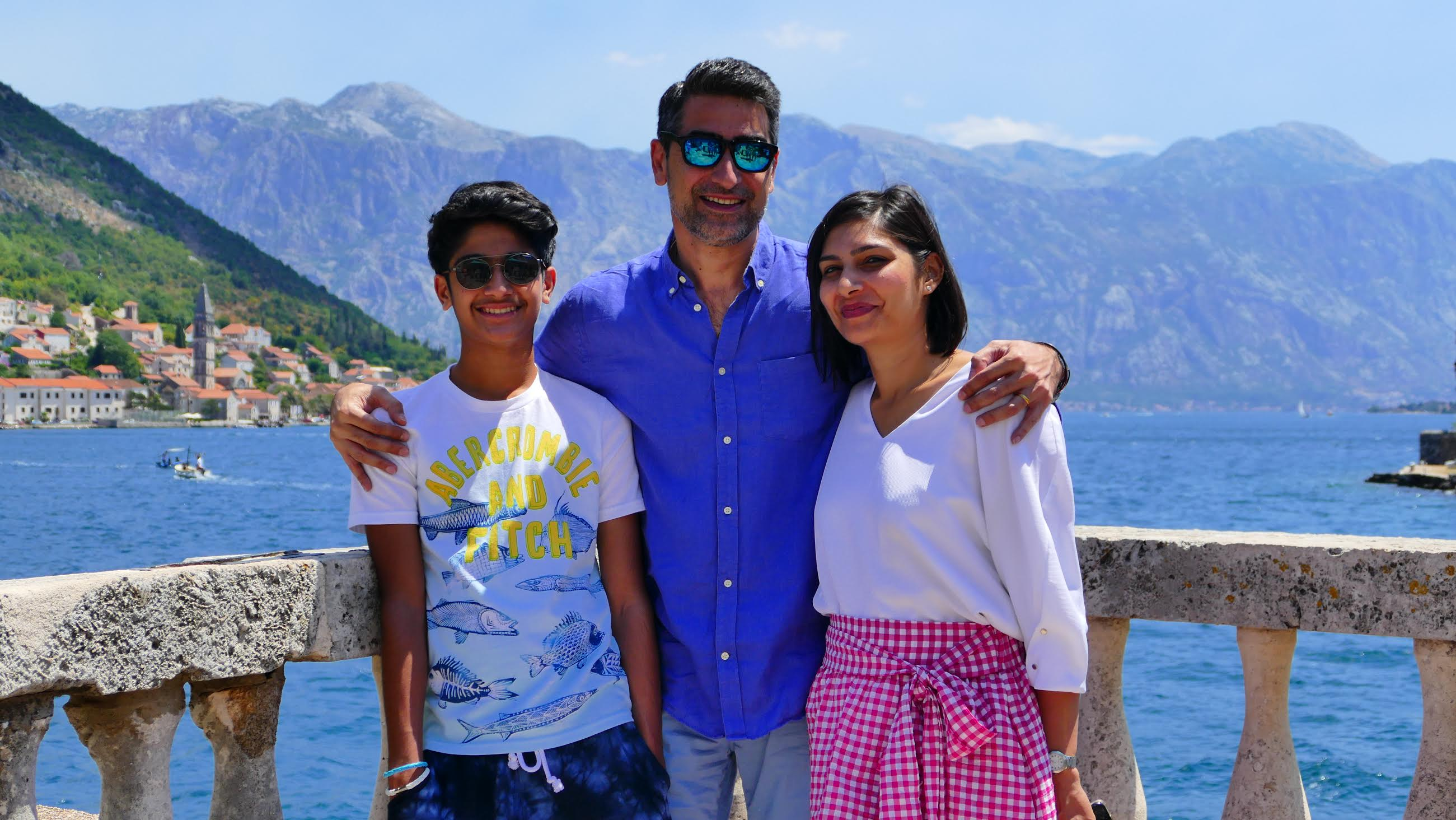 Paras Sharma, Senior Vice President & General Manager (SEA) and Head of Digital Media (Asia) Viacom International Media Networks; with his family here. Photo courtesy: Paras Sharma