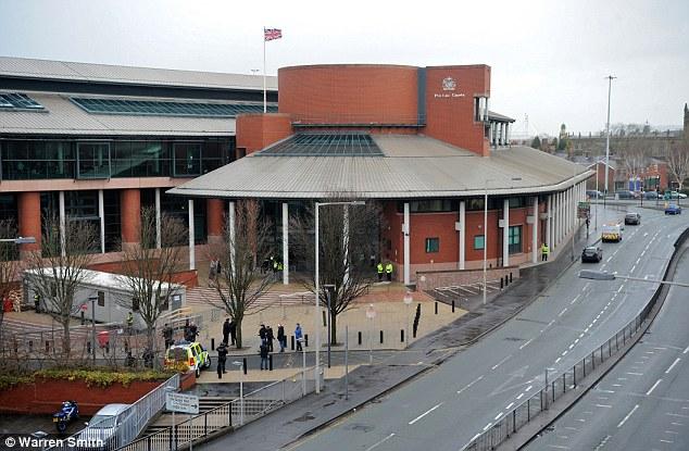 Preston Crown Court in Lancashire.