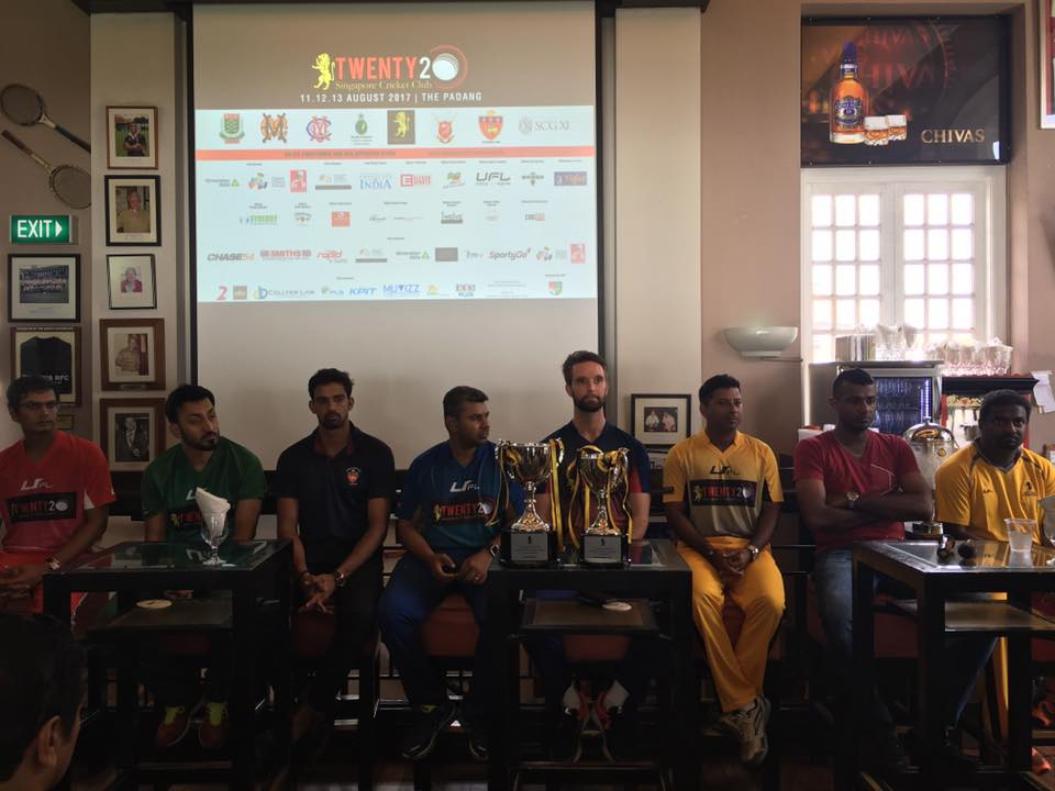 The SCC T20 officially got underway with the Press Conference being held at Stumps, SCC.