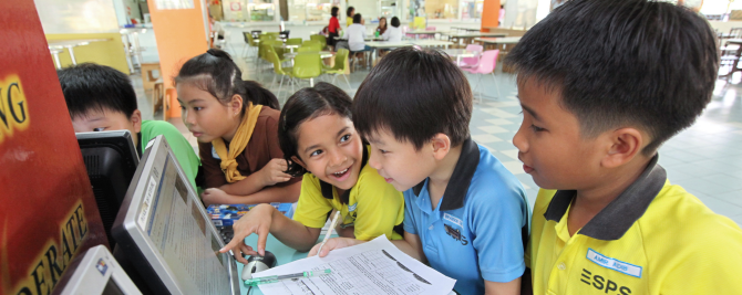 Online platform Singapore Student Learning Space (SLS)