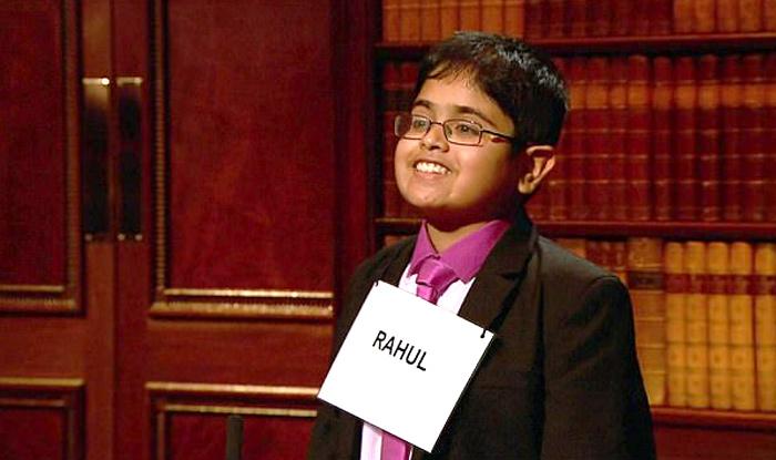 Rahul on 'Child Genius