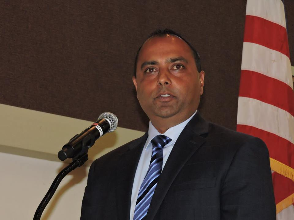 Indian-American Rathnesh Raman.