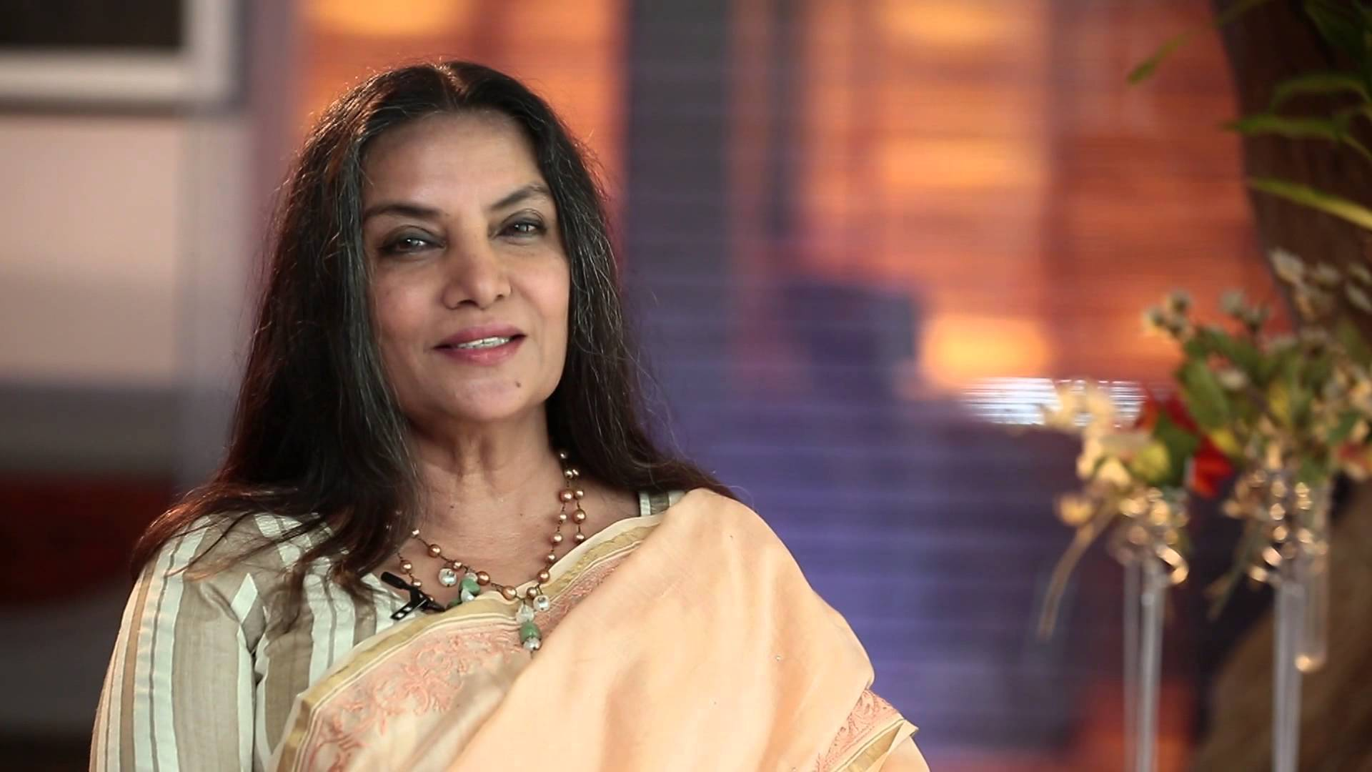 Veteran Indian actress Shabana Azmi