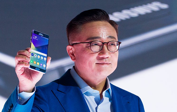 Samsung Mobile chief executive DJ Koh