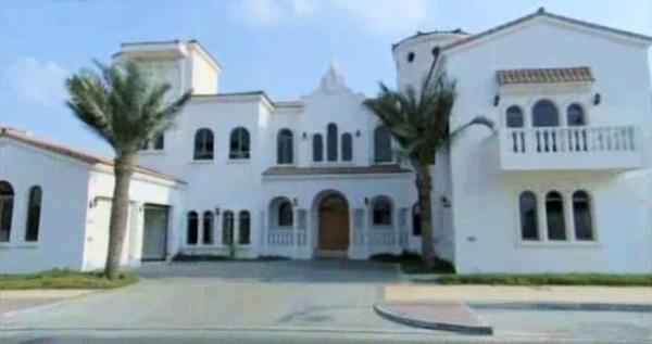 Dubai villa of Shah Rukh Khan.