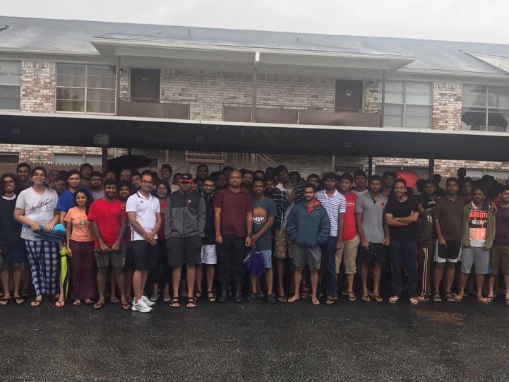 200 Indian students caught in Houston flooding being evacuated