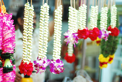 Flower Garland making workshop
