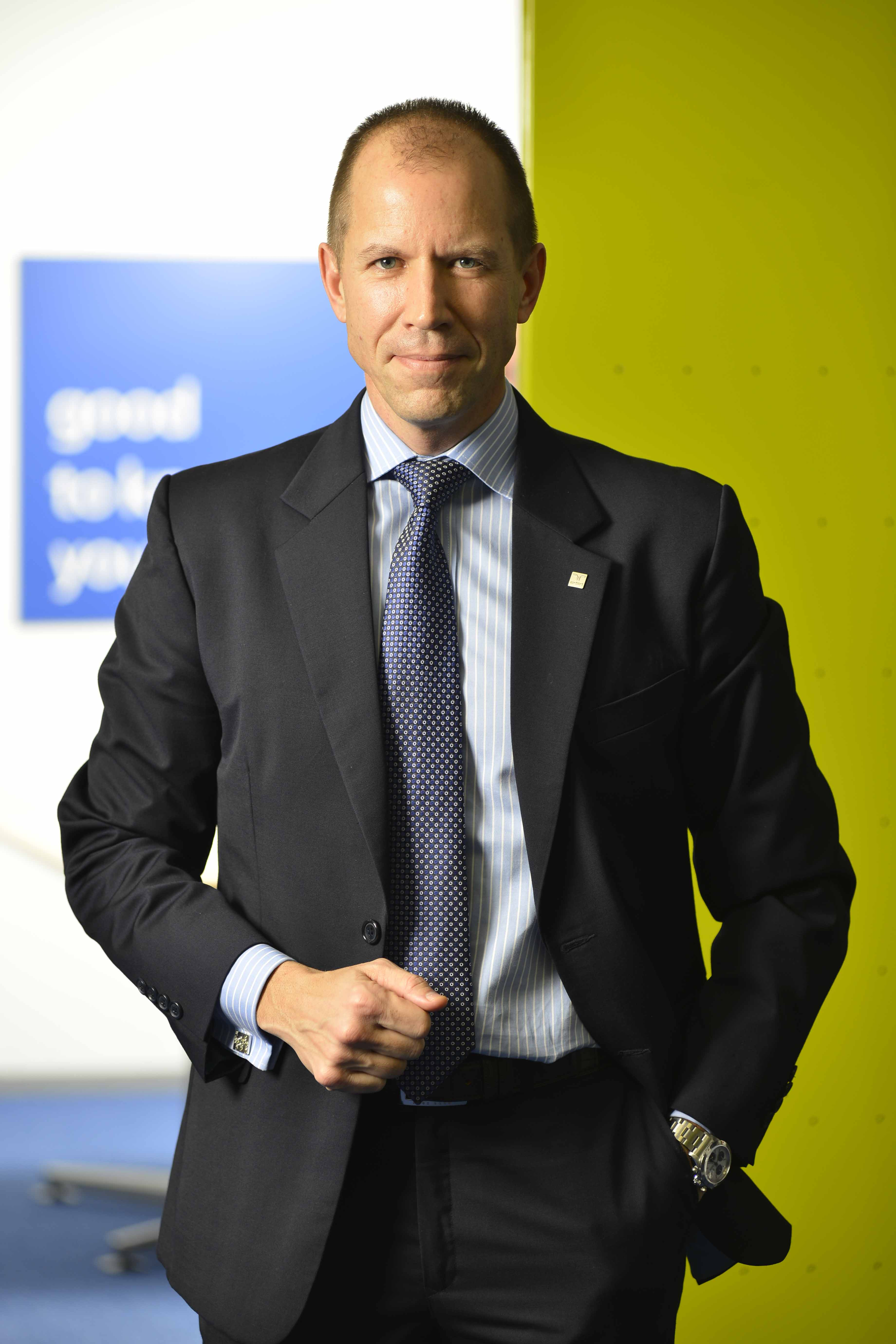 Paul Dupuis, MD and CEO of Randstad India.