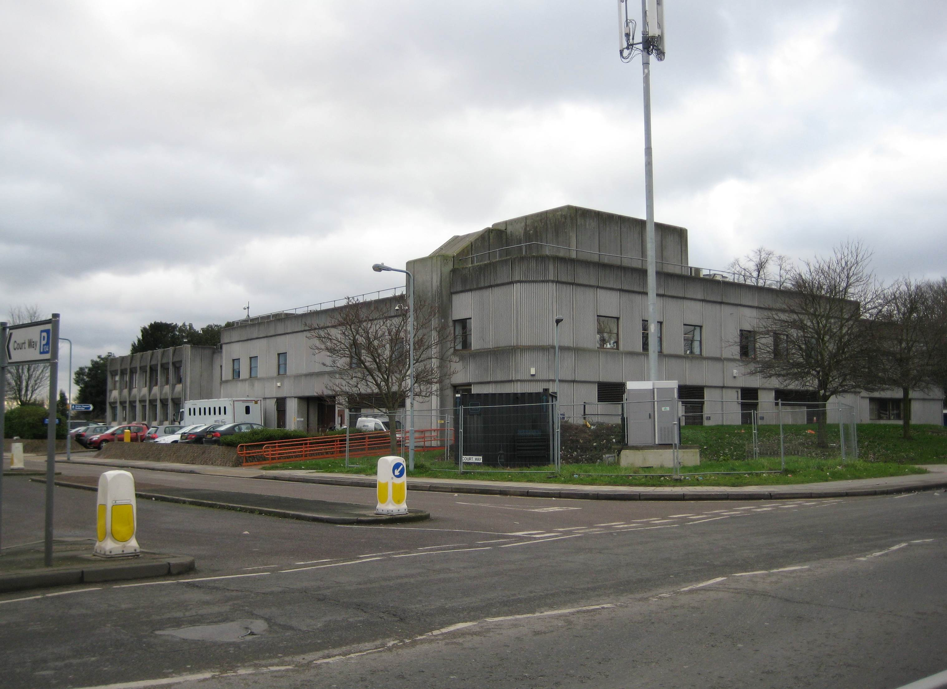 Barkingsides Magistrates Court.