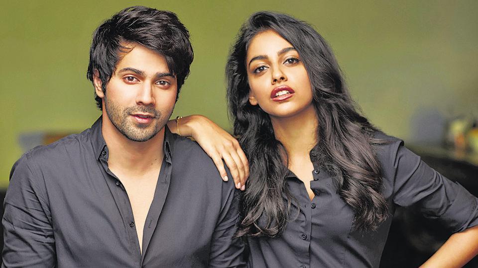 Varun Dhawan and Banita Sandhu in a promo shoot.