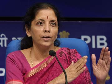 Indian Defence Minister Nirmala Sitharaman.