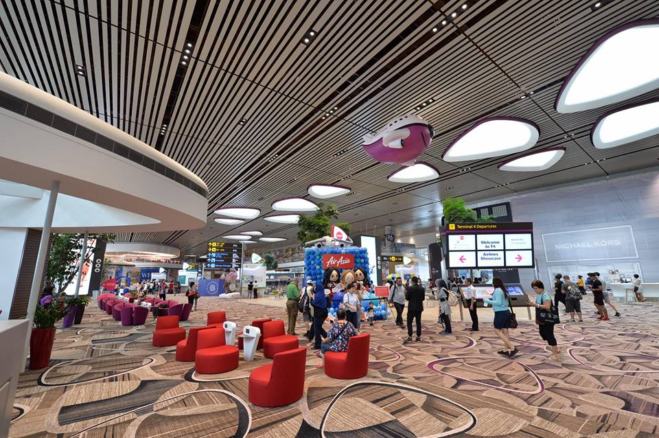 Changi Airport Terminal 4 opens on October 31