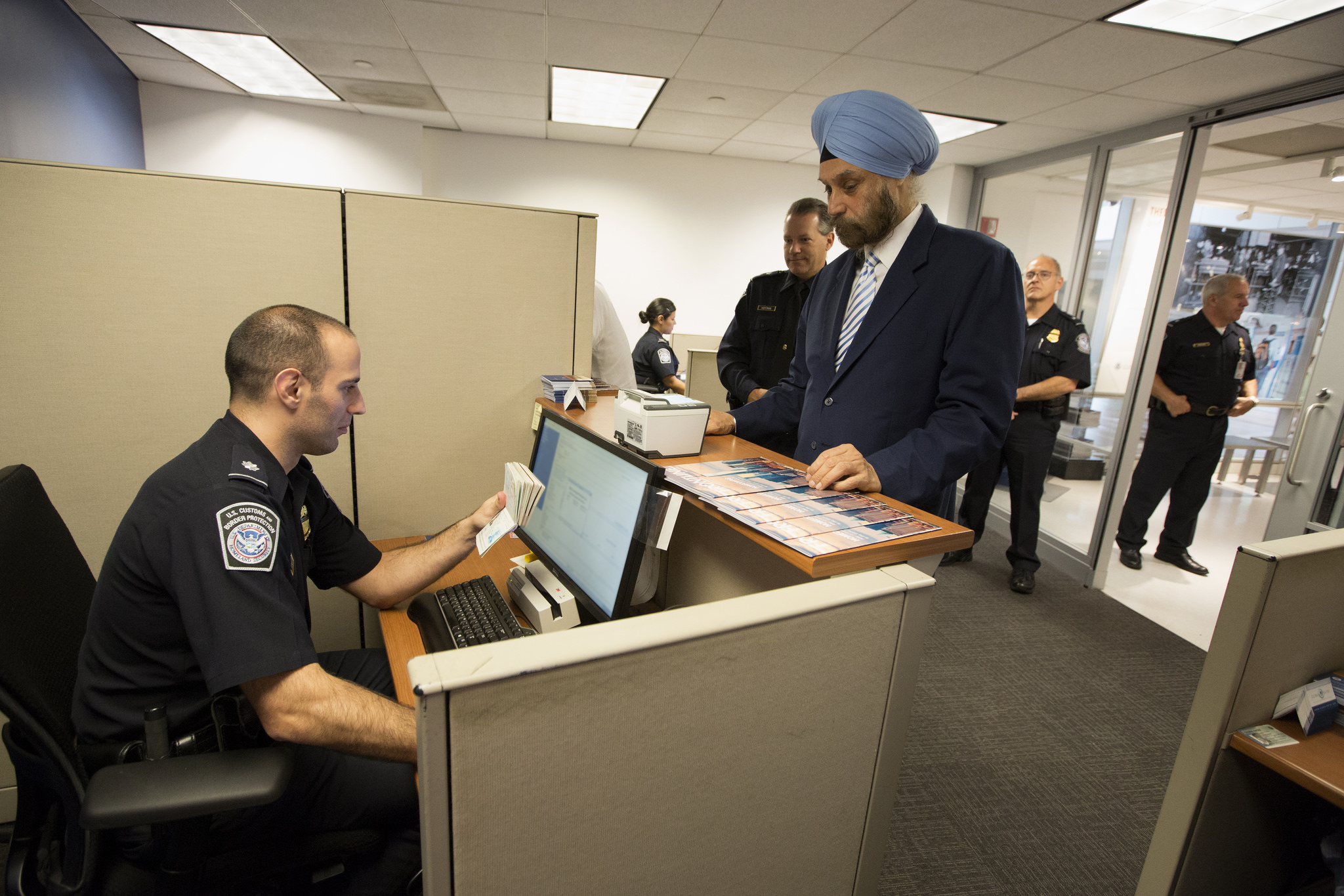 Indian Ambassador to US Navtej Sarna became the first Indian to enroll in Global Entry Program.