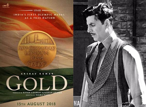 Akshay Kumar releases poster of Gold