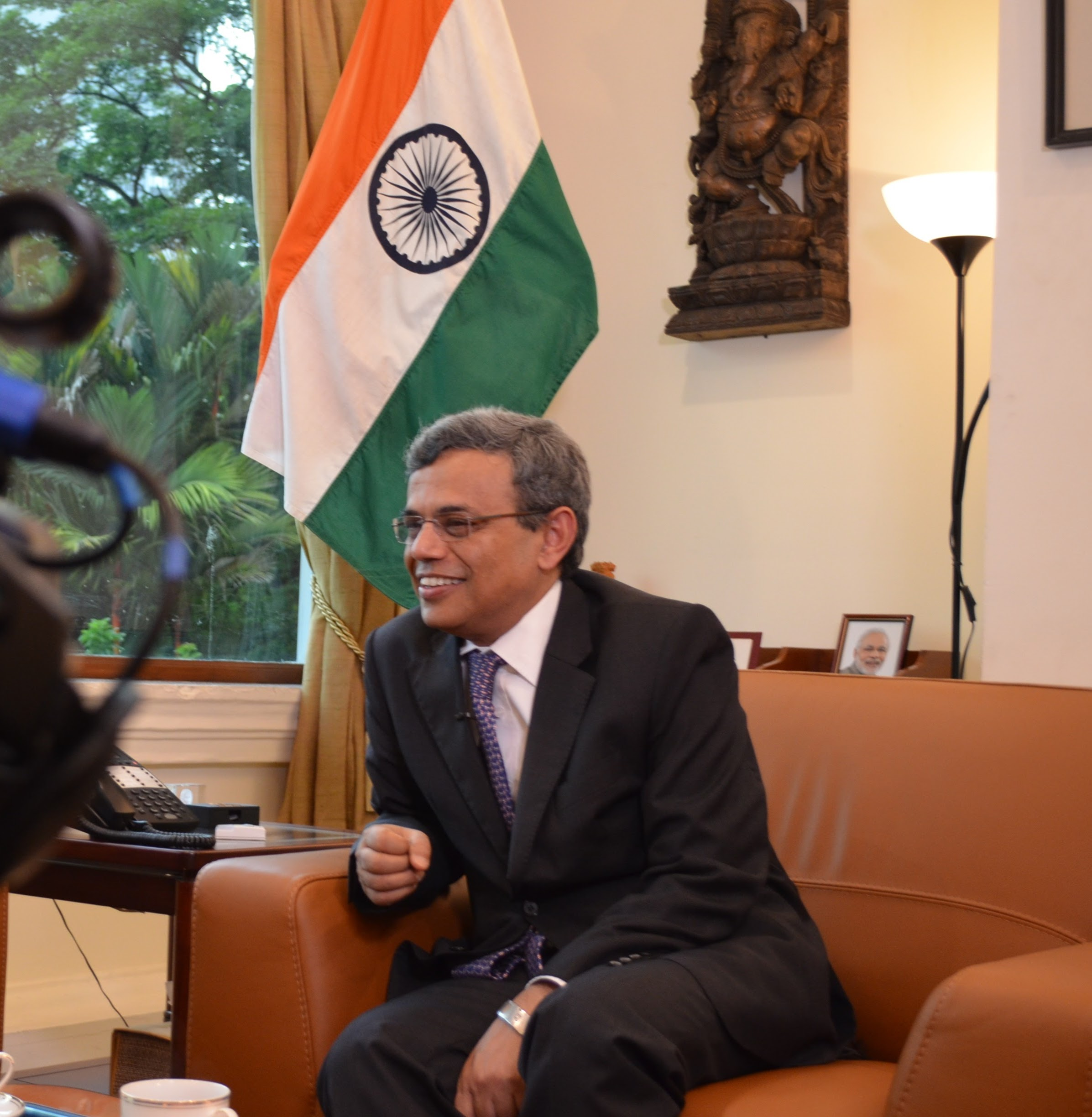 H.E. Jawed Ashraf, High Commissioner of India to Singapore Photo: Connected to India