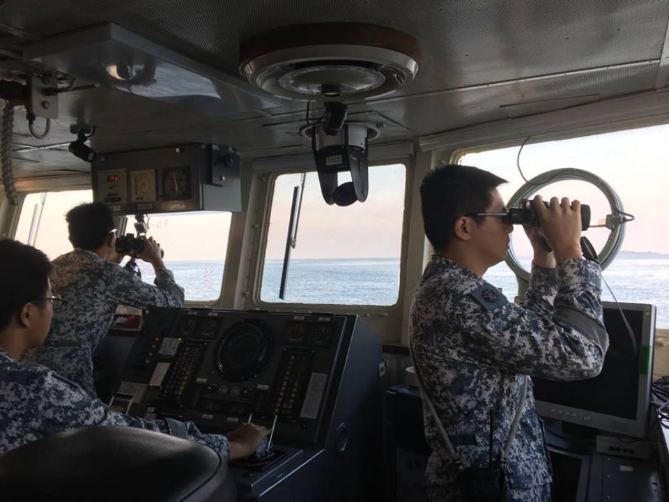 Search and rescue operations underway to locate the missing crew from dredger which collided with a tanker in Singapore waters.