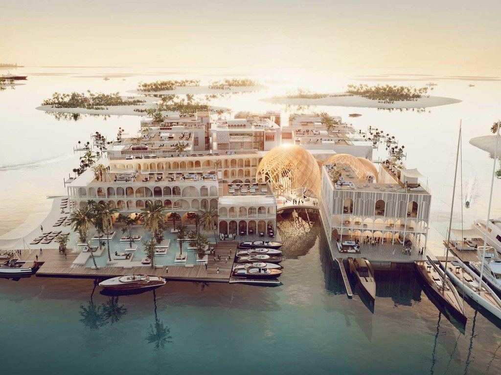 'Floating Venice' will be the world's 'first five-star floating destination which will be opened in Dubai.