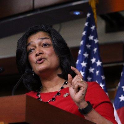 Washington State US Congresswoman Pramila Jayapal