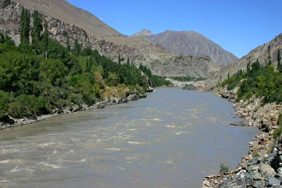 The Indus River.
