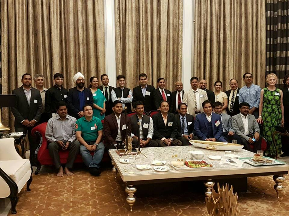 USINPAC hosts visiting youth leaders from India, discusses trade and investment opportunities
