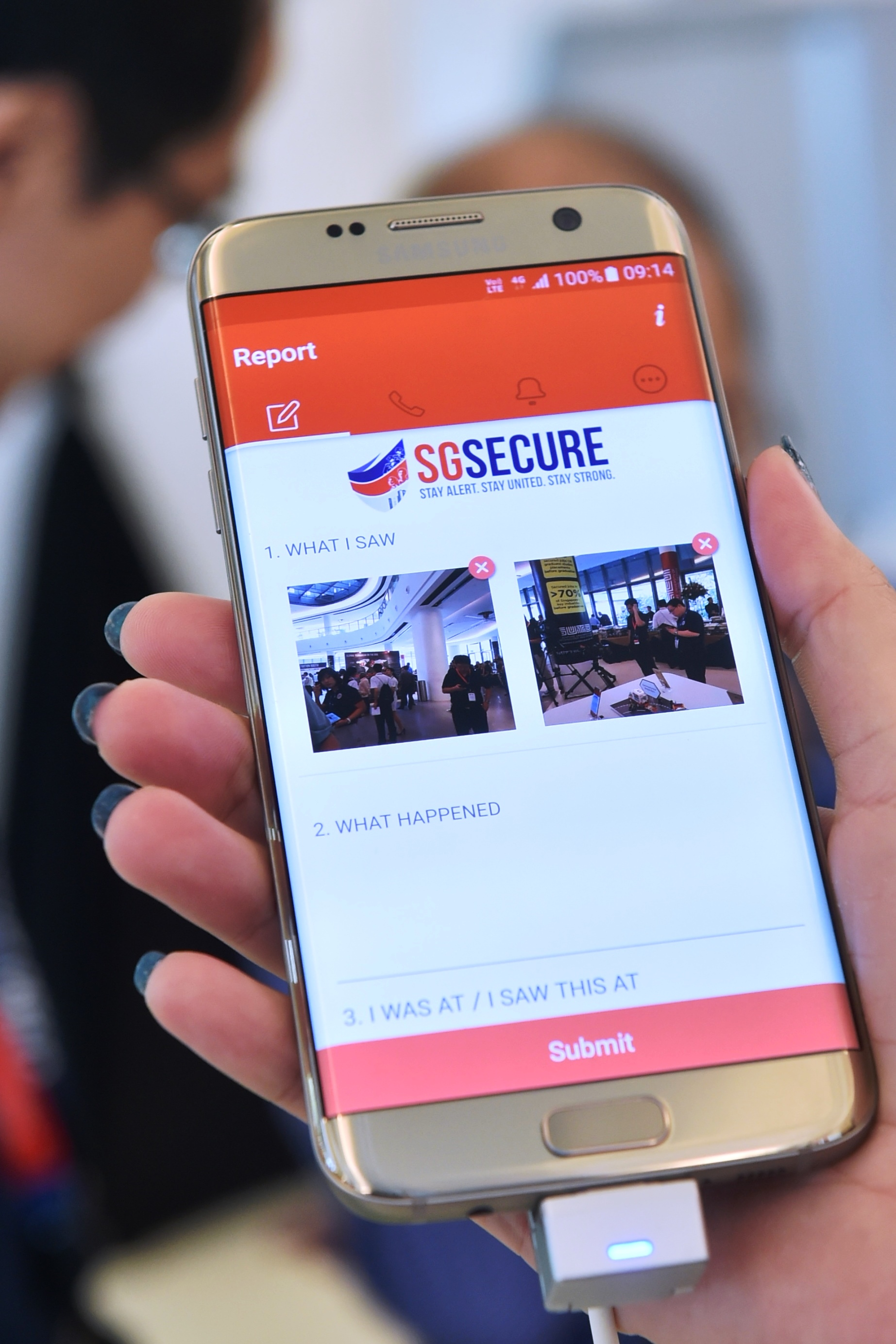 A total of 843,000 devices now have the SGsecure app