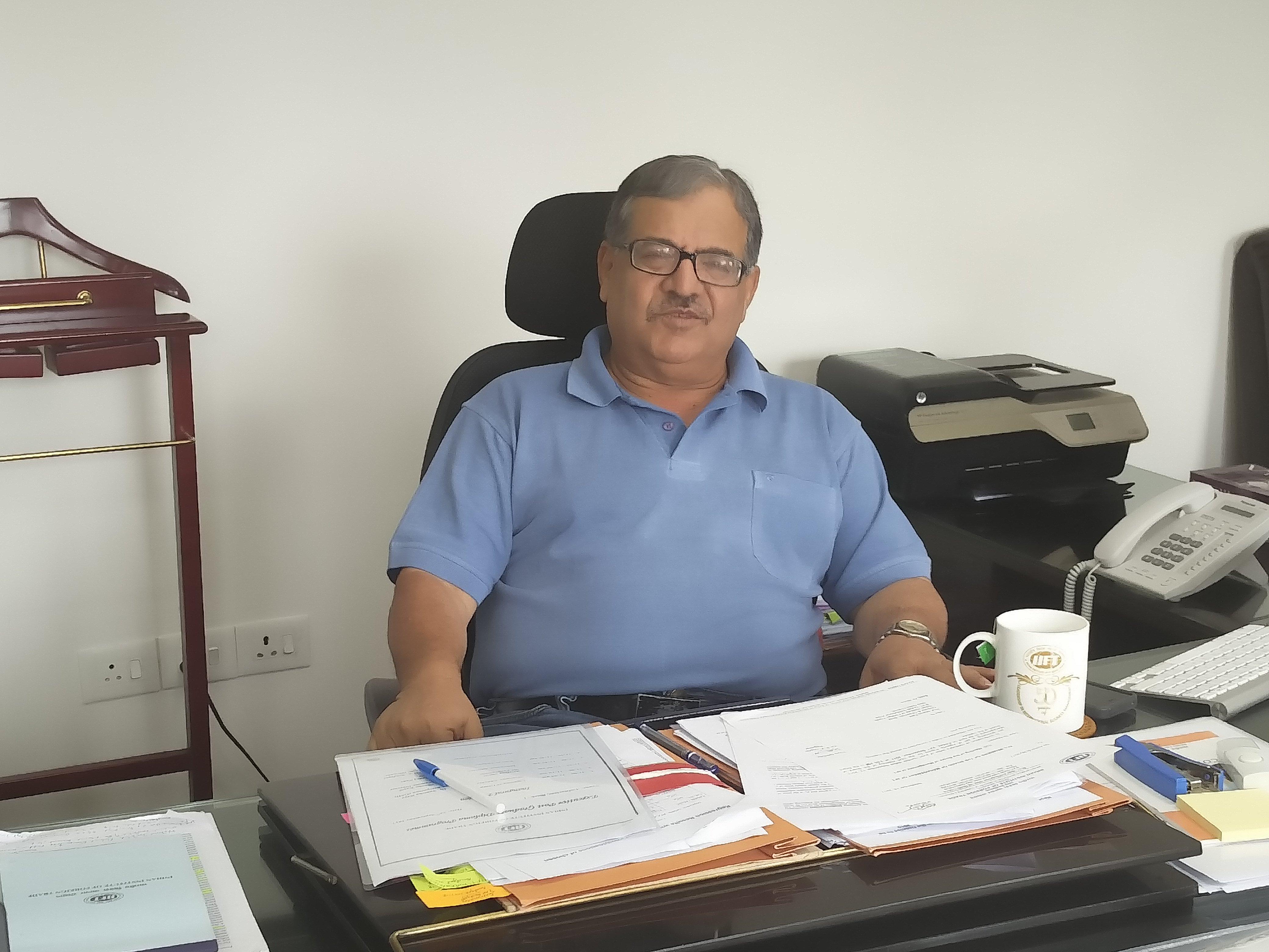 Professor Manoj Pant took over as IIFT Director three weeks ago.