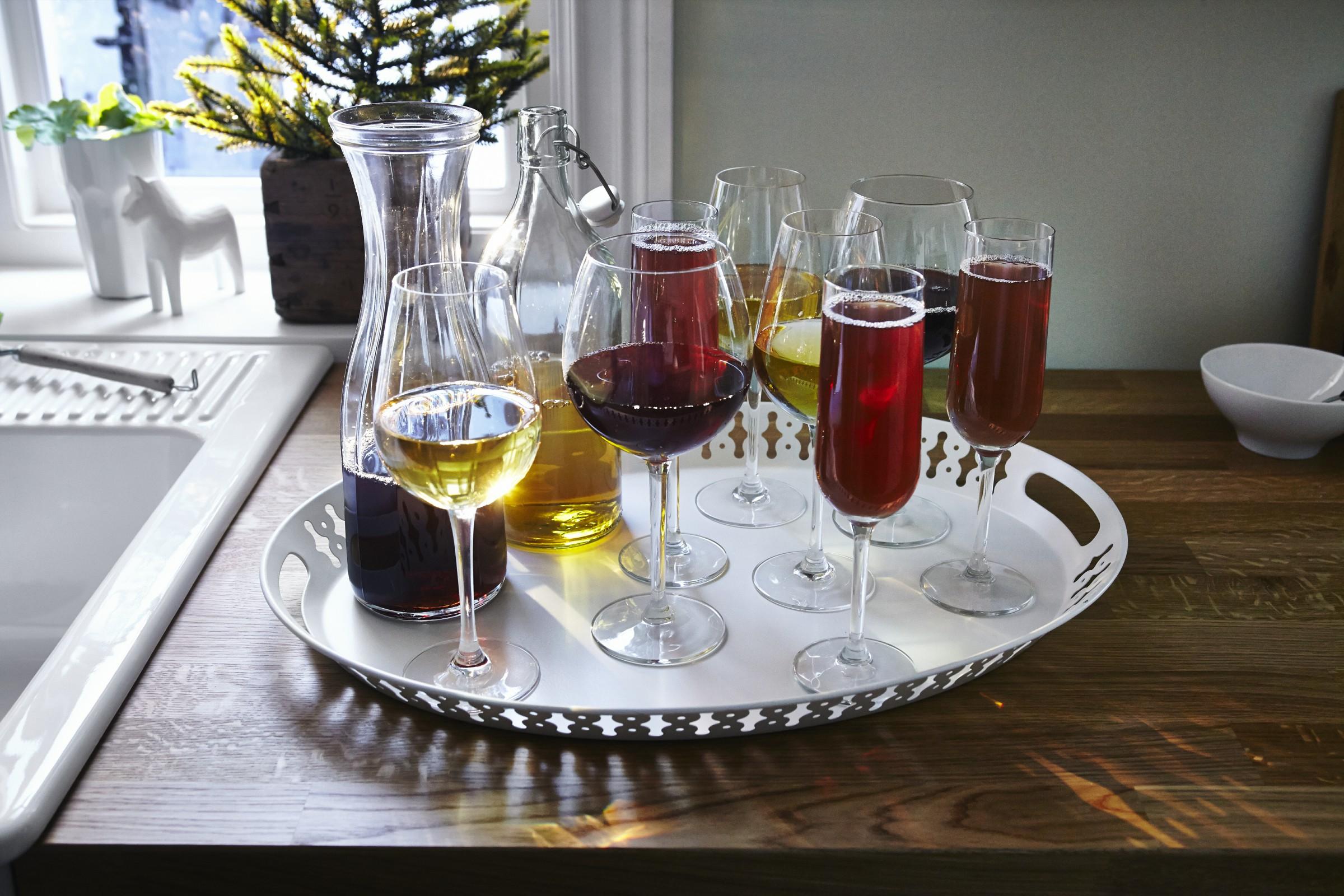 glassware IKEA