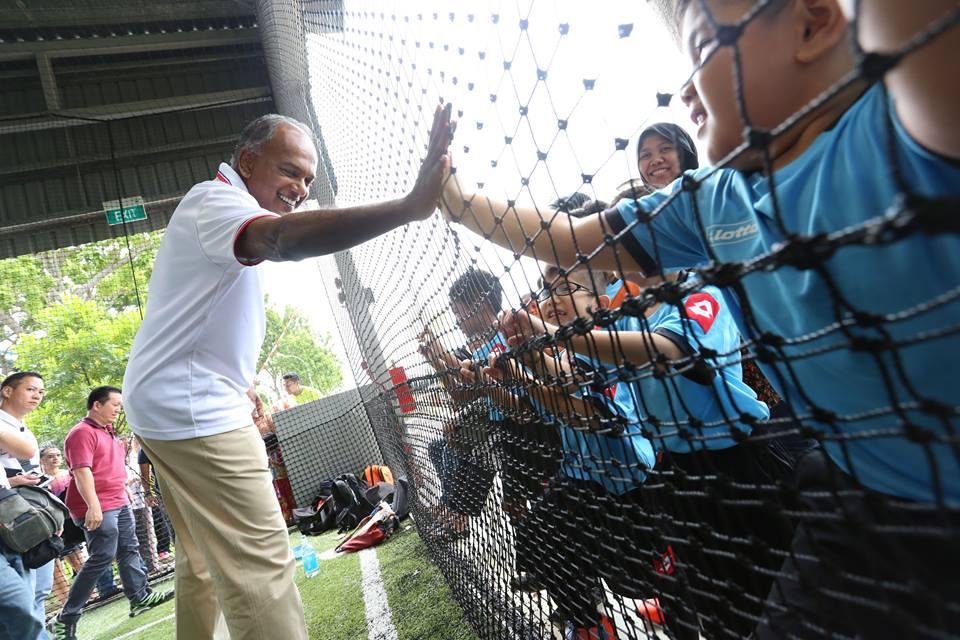 Home Affairs and Law Minister K Shanmugam