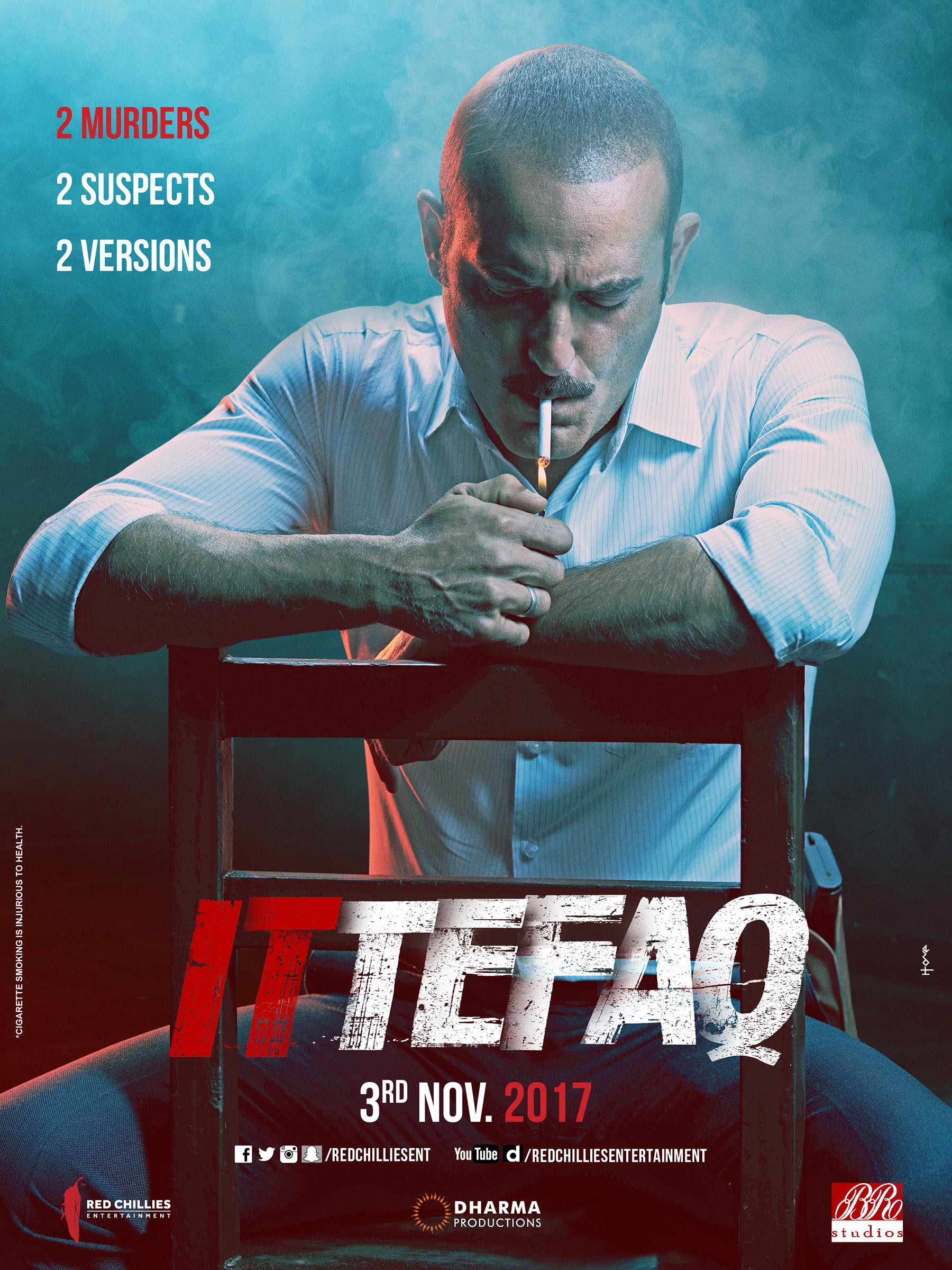 'Ittefaq' first look posters starring Sonakshi Sinha, Sidharth Malhotra, Akshaye Khanna