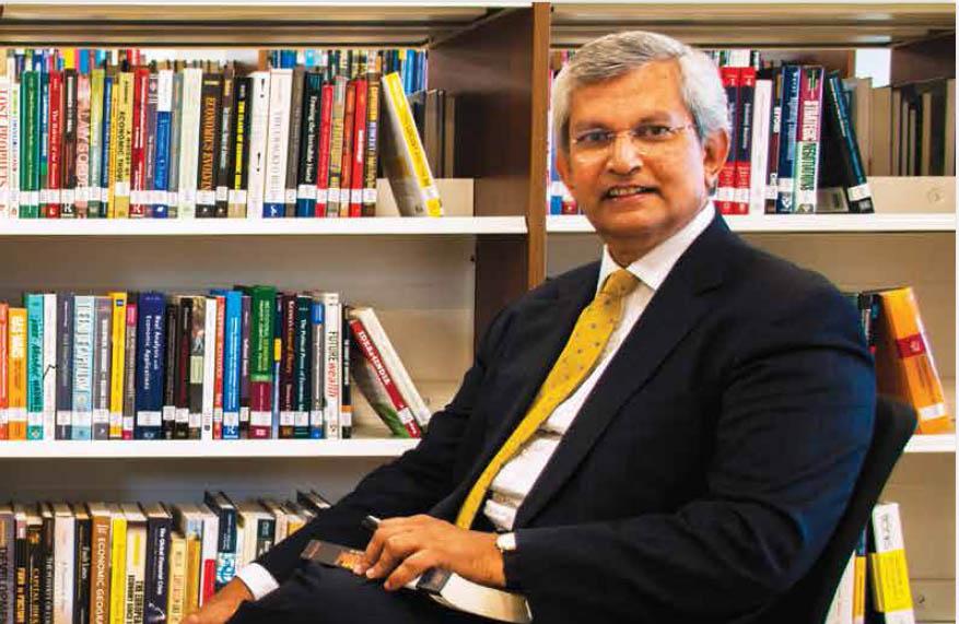 Indian academic Prajapati Trivedi
