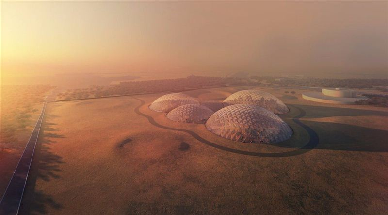 Dubai is constructing a prototype of Mars colony in the desert.