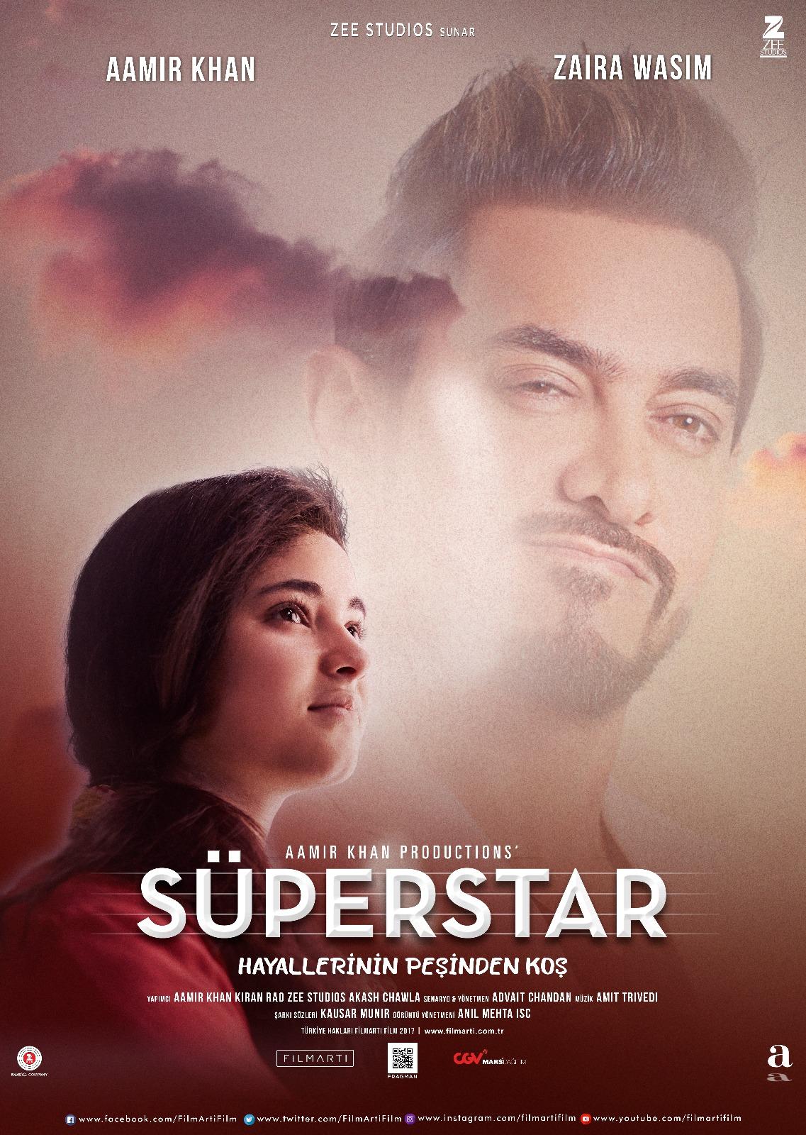 Aamir Khan's Secret Superstar
