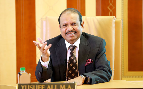 Yusufali MA is the richest NRI in UAE and occupies 27th position in the Forbes' 100 super-rich Indian list.