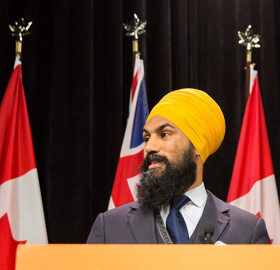 NDP leader Jagmeet Singh.
