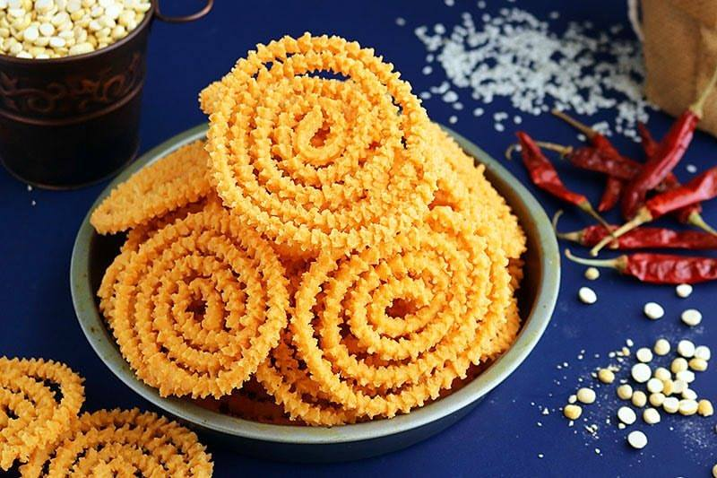 Special murukku are being sold at many shops in Singapore.