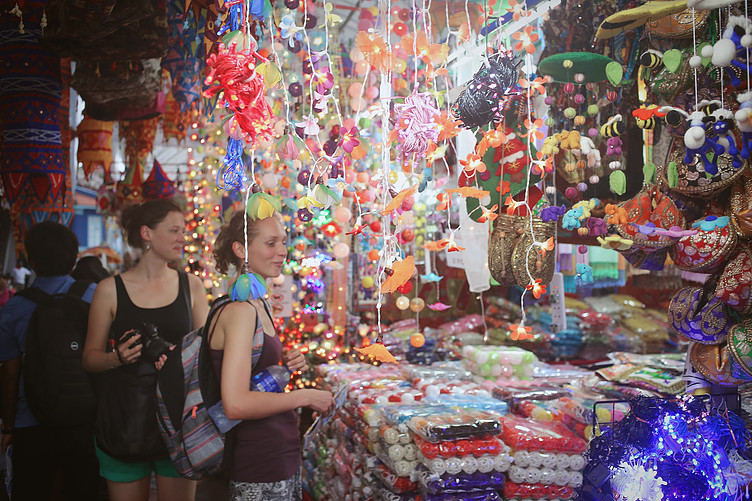 Little India virtually comes alive during Deepavali period in Singapore.