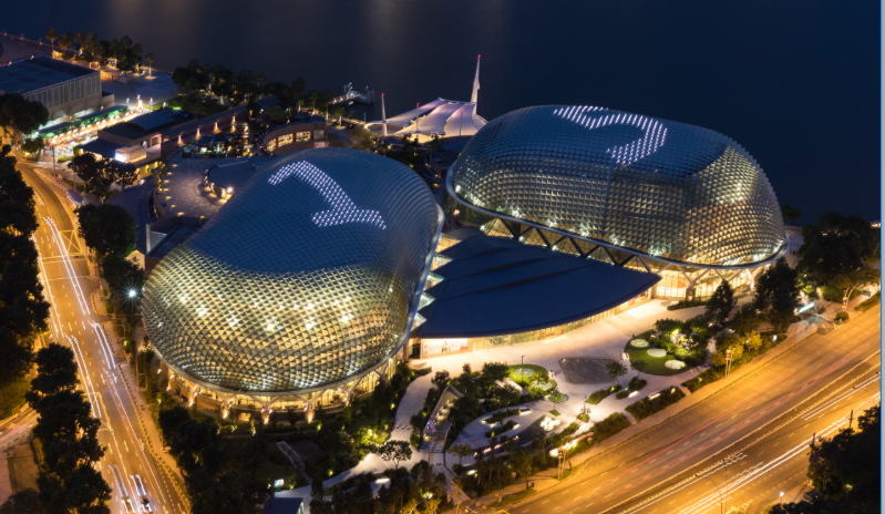Photo by Alvin Ho, Courtesy of Esplanade – Theatres on the Bay