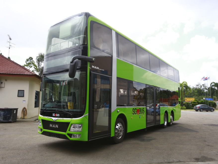 Plying of 50 hybrid buses in Singapore is part of an exercise to build a more environmentally friendly public bus fleet.