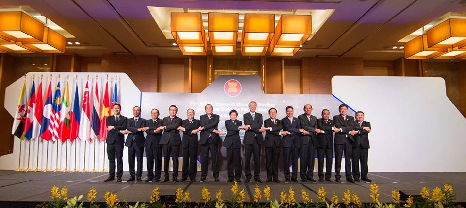 ASEAN Nations' transport ministers.
