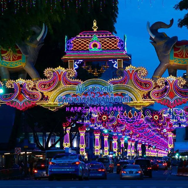 You will have a complete enriching Indian experience at Deepavali Festival Village.